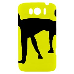 Black dog HTC Sensation XL Hardshell Case