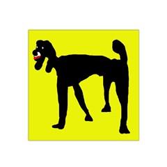 Black dog Satin Bandana Scarf