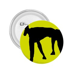 Black dog 2.25  Buttons