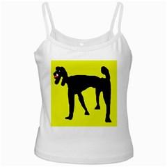 Black dog Ladies Camisoles