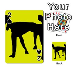 Black dog Playing Cards 54 Designs