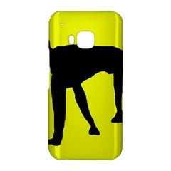 Black dog HTC One M9 Hardshell Case