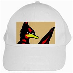 Angry Bird White Cap