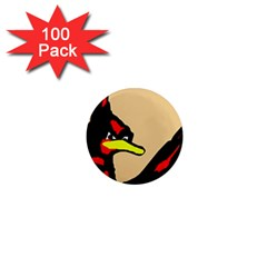 Angry Bird 1  Mini Magnets (100 pack)