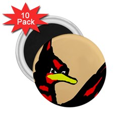 Angry Bird 2.25  Magnets (10 pack)