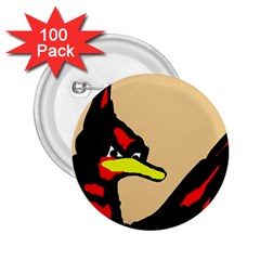 Angry Bird 2.25  Buttons (100 pack)