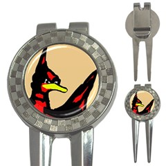 Angry Bird 3-in-1 Golf Divots