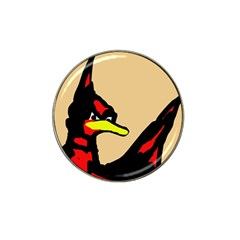 Angry Bird Hat Clip Ball Marker (10 pack)
