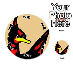 Angry Bird Playing Cards 54 (Round)