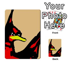 Angry Bird Multi-purpose Cards (Rectangle)