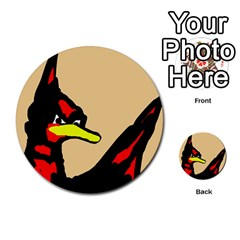 Angry Bird Multi Purpose Cards (round)