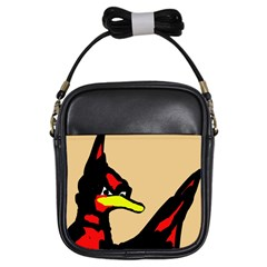 Angry Bird Girls Sling Bags