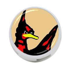 Angry Bird 4-Port USB Hub (Two Sides)