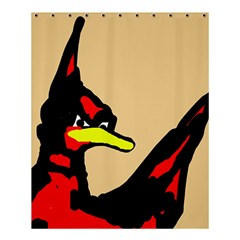 Angry Bird Shower Curtain 60  x 72  (Medium)