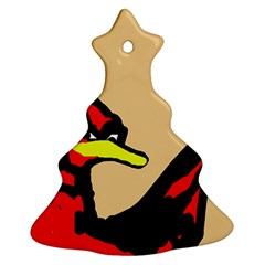 Angry Bird Christmas Tree Ornament (2 Sides)