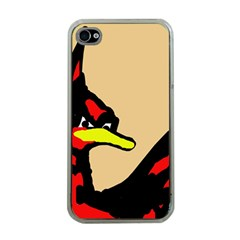 Angry Bird Apple iPhone 4 Case (Clear)