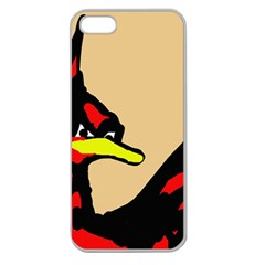 Angry Bird Apple Seamless iPhone 5 Case (Clear)