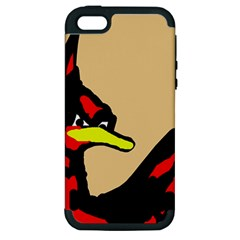 Angry Bird Apple iPhone 5 Hardshell Case (PC+Silicone)