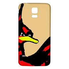 Angry Bird Samsung Galaxy S5 Back Case (White)