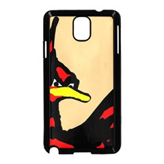 Angry Bird Samsung Galaxy Note 3 Neo Hardshell Case (Black)