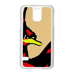 Angry Bird Samsung Galaxy S5 Case (White)