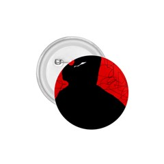 Red and black abstract design 1.75  Buttons