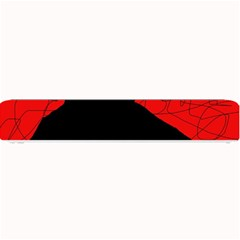 Red and black abstract design Small Bar Mats