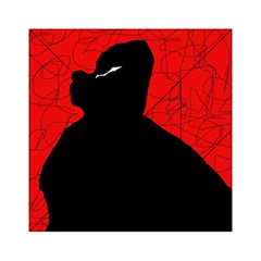 Red and black abstract design Acrylic Tangram Puzzle (6  x 6 )