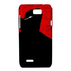 Red and black abstract design Motorola XT788