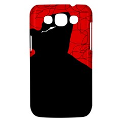 Red and black abstract design Samsung Galaxy Win I8550 Hardshell Case
