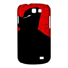 Red and black abstract design Samsung Galaxy Express I8730 Hardshell Case