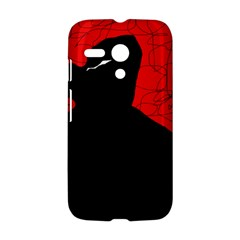 Red and black abstract design Motorola Moto G