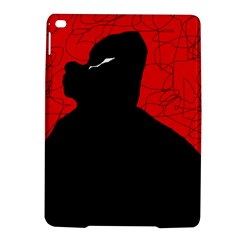 Red and black abstract design iPad Air 2 Hardshell Cases