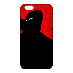 Red and black abstract design iPhone 6/6S TPU Case