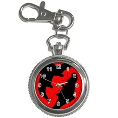 Black and red lizard  Key Chain Watches