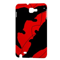 Black and red lizard  Samsung Galaxy Note 1 Hardshell Case