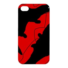Black and red lizard  Apple iPhone 4/4S Premium Hardshell Case