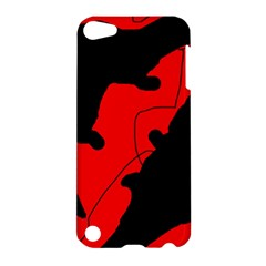 Black and red lizard  Apple iPod Touch 5 Hardshell Case
