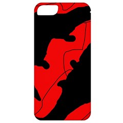 Black and red lizard  Apple iPhone 5 Classic Hardshell Case