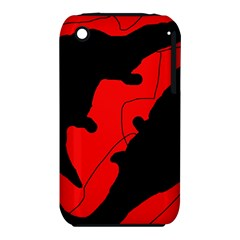 Black and red lizard  Apple iPhone 3G/3GS Hardshell Case (PC+Silicone)