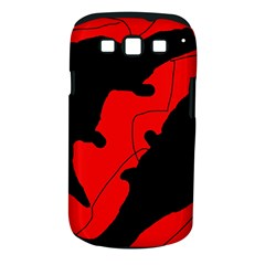 Black and red lizard  Samsung Galaxy S III Classic Hardshell Case (PC+Silicone)