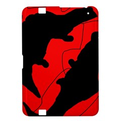 Black and red lizard  Kindle Fire HD 8.9