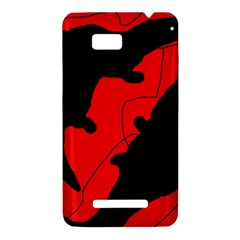 Black and red lizard  HTC One SU T528W Hardshell Case