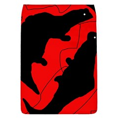 Black and red lizard  Flap Covers (L)