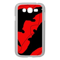 Black and red lizard  Samsung Galaxy Grand DUOS I9082 Case (White)