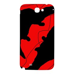 Black and red lizard  Samsung Note 2 N7100 Hardshell Back Case