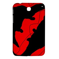 Black and red lizard  Samsung Galaxy Tab 3 (7 ) P3200 Hardshell Case