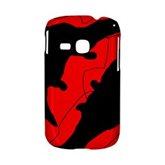 Black and red lizard  Samsung Galaxy S6310 Hardshell Case