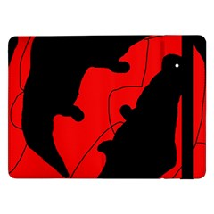 Black and red lizard  Samsung Galaxy Tab Pro 12.2  Flip Case