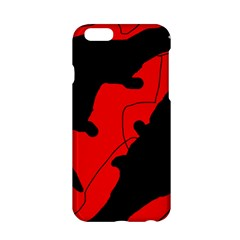 Black and red lizard  Apple iPhone 6/6S Hardshell Case